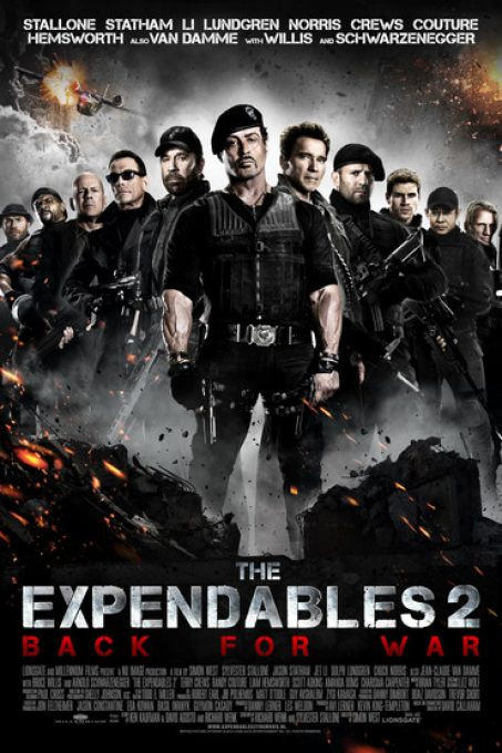 دانلود فیلم بی مصرف ها 2 The Expendables 2012 دوبله فارسی