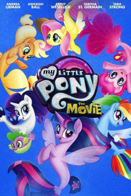 دانلود انیمیشن My Little Pony The Movie 2017 تاتوی کوچولوی من فیلم