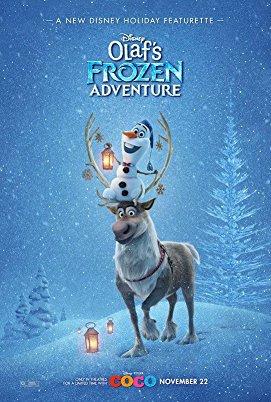 دانلود انیمیشن جدید Olafs Frozen Adventure 2017
