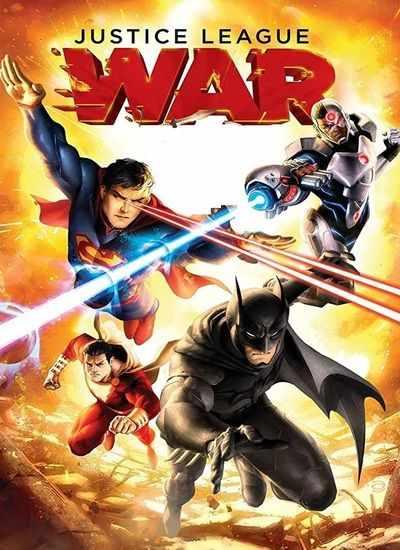 دانلود انیمیشن Justice League War 2014 لیگ عدالت جنگ دوبله فارسی