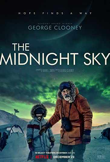 دانلود فیلم The Midnight Sky 2020 آسمان نیمهشب دوبله فارسی