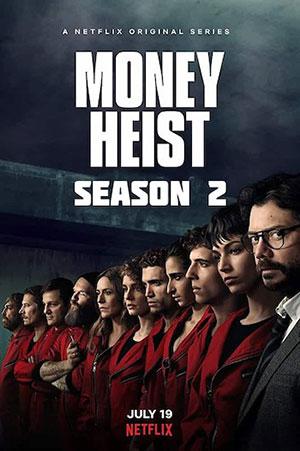 دانلود فصل دوم سریال Money Heist 2019 خانه کاغذی