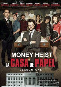 دانلود فصل اول سریال Money Heist 2017 خانه کاغذی